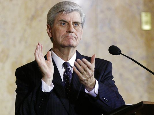 Mississippi Republican Gov. Phil Bryant is reportedly anxious to sign gun reform measures that passed the state legislature last weekend. (Photo: Jackson Clarion Ledger)