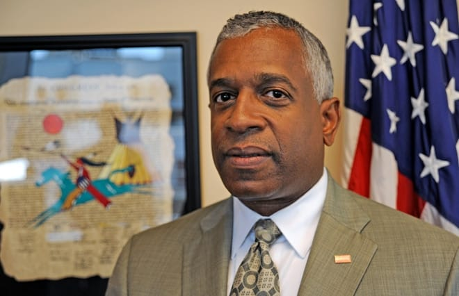 B. Todd Jones has served as ATF director for roughly four years.
