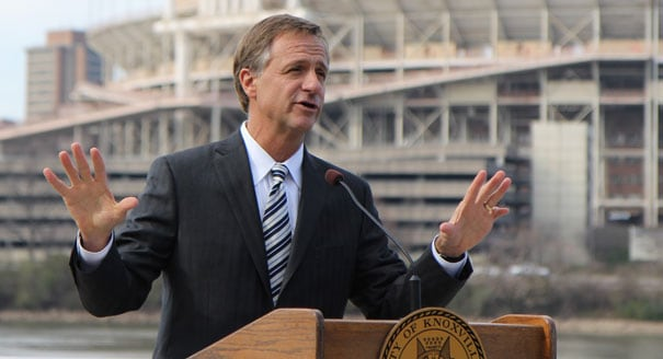 Legislation to protect employee Second Amendment rights in parkinglots across Tennessee is now in the hands of Republican Gov. Bill Haslam. (Photo: AP)