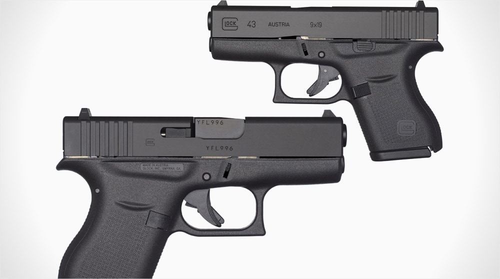 Glock 43 leaked: single-stack 9mm for concealed-carry