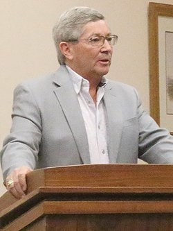 Sen. David Hinkins, R-Orangeville, managed to get his constitutional carry measure through the Utah Senate in good order, and is now halfway to a governor who has pledged to veto it. (Photo: Utah Sun Advocate)