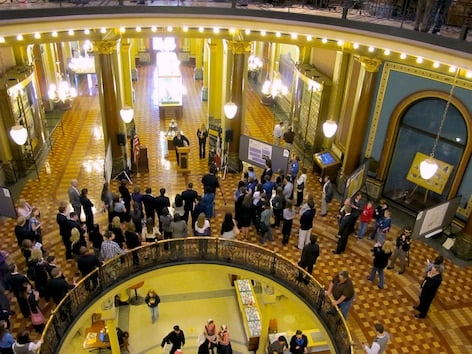 Groups both for and against the omnibus gun reform package in the Iowa Senate are gearing up for a fight. (Photo: Des Moines Register)