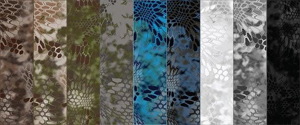 Kryptek camouflage