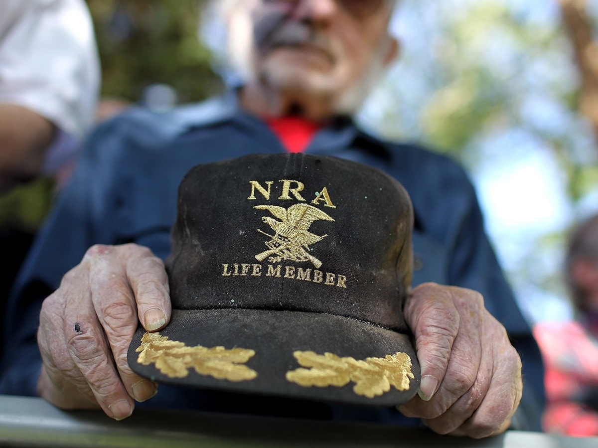 The cover of an NRA membership drive.