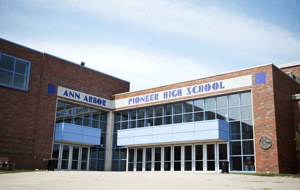 Pioneer High School in Ann Arbor, Michigan was the scene of a public shaming of a lawful open carry practitioner last week. (Photo: MLive)