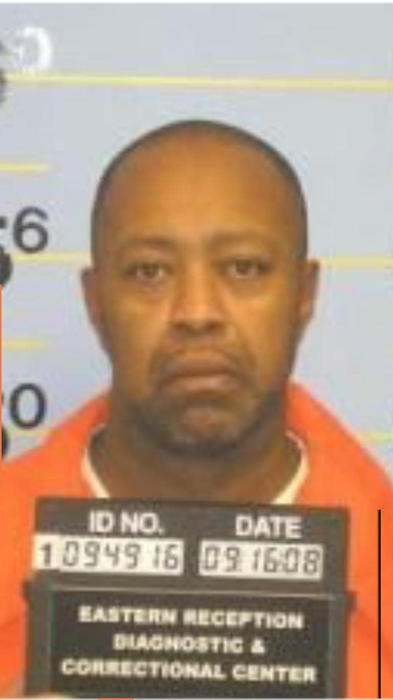 "2008 mug shot of Raymond Robinson, ""...has not been a model citizen.""  (Photo: St. Louis Dispatch)"