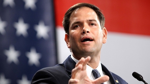 Sen. Marco Rubio, R-FL, aims to repeal the strict gun laws currently in effect in the nation's capital. (Photo: AP)
