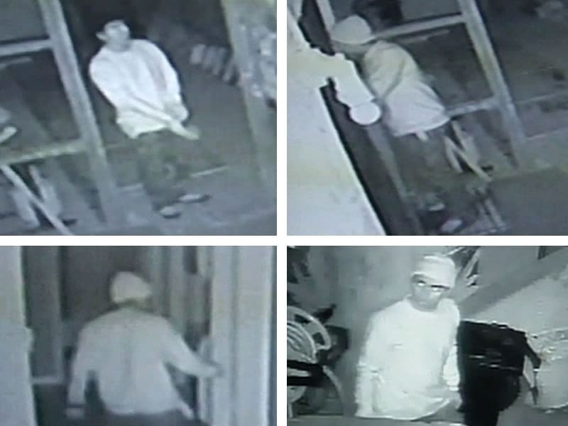 Heidi Quezada hopes someone will recognize the suspect before he breaks into another house. (Photo: ABC)