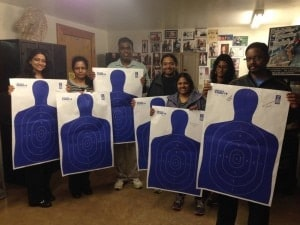 "Jan Morgan said there are ""a number of people with all colors of skin"" who frequent her gun range. (Photo: Facebook)"