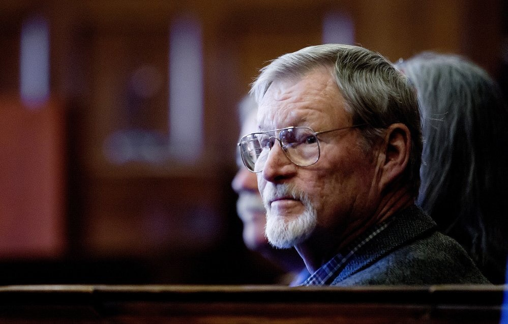 Mike Kimball said he shot Leon Kelley after Kelley pushed him, but prosecutors said the then 70-year-old should have just ran away. (Photo: Portland Press Herald)