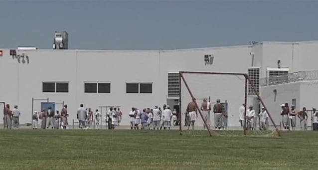 The prison, which opened in 2005, holds nearly 3,800 inmates of all security levels and employs around 1,800 people. (Photo: ABC)