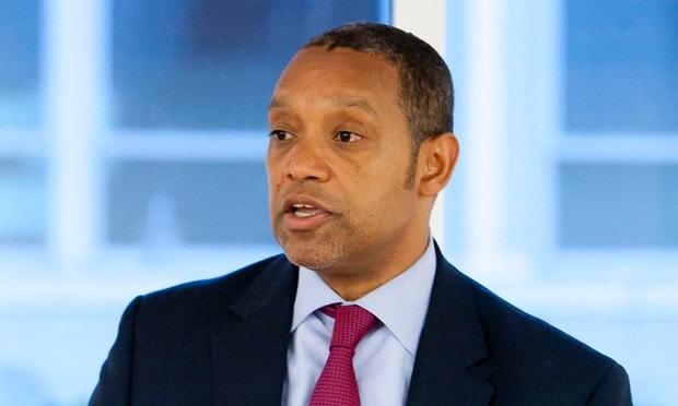 Washington D.C. Attorney General Karl A. Racine will drop the District's appeal of an order mandating a concealed carry program for the city. (Photo: Diego M. Radzinschi/NLJ)