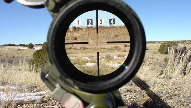 Mil-Dot-Reticle
