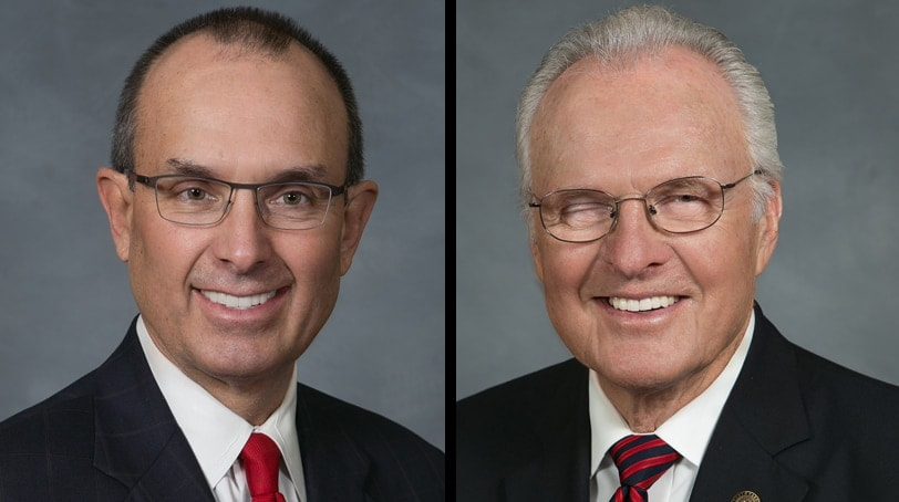 North Carolina Republican Sens. Jeff Tarte and Ronald Rabin introduced a bill in March easing restrictions on concealed carry permit holders, including a provision allowing them to carry most everywhere law enforcement can. (Photo: North Carolina General Assembly)
