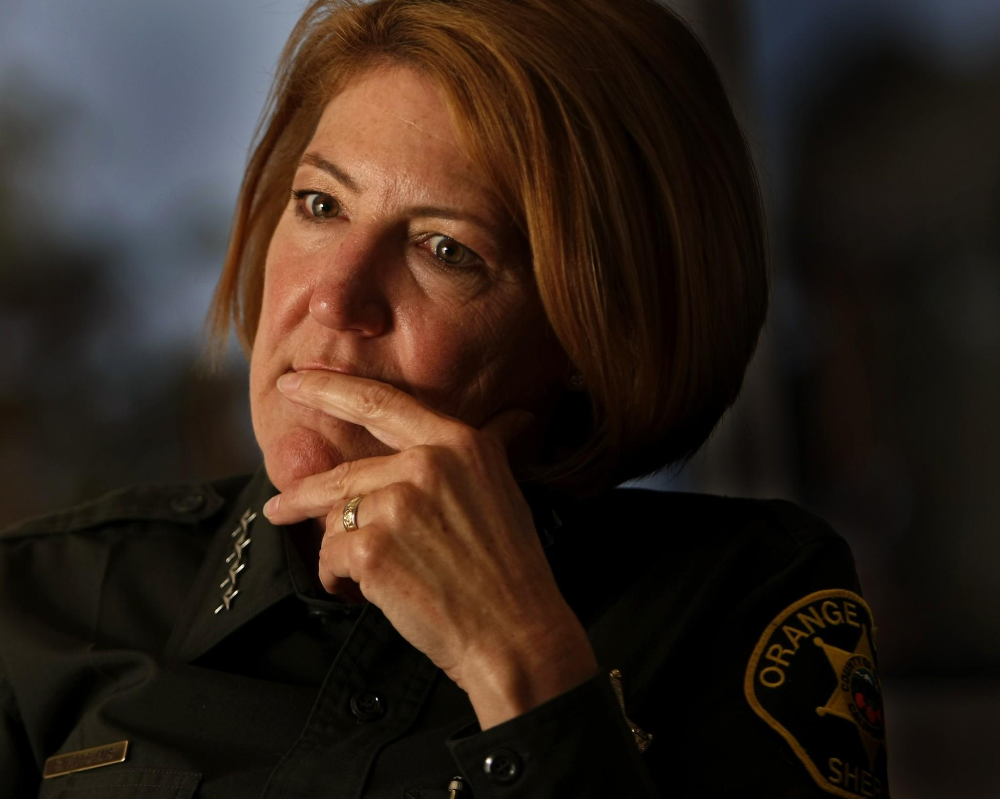"Orange County Sheriff Sandra Hutchens is switching back to the pre-Peruta ""good cause"" requirements, putting those who have applied for permits in limbo. (Photo: Allen J. Schaben/Los Angeles Times)"