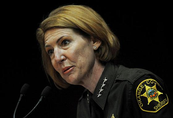 Sheriff Sandra Hutchens, under pressure from the NRA and the California Rifle and Pistol Association, will process hundreds of concealed carry applications without asking for more justification. (Photo: OC Register)