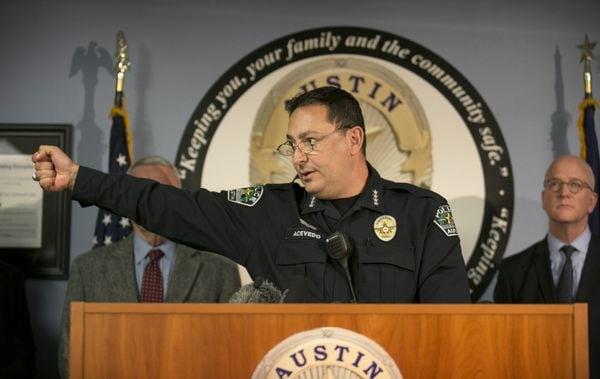 Austin Police Chief Art Acevedo