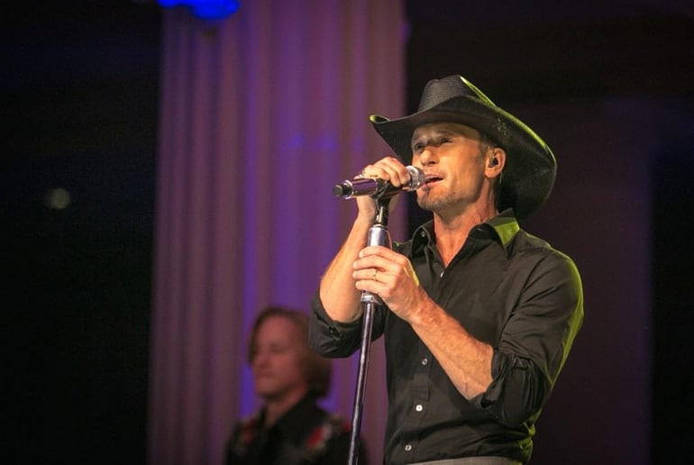 Country music icon Tim McGraw remains committed to a benefit concert for a gun control group that backs expanded background checks and magazine limits. (Photo: Facebook)