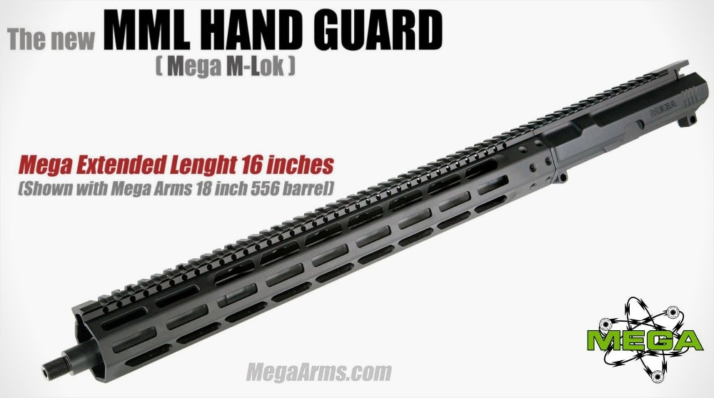 More M-Lok from Troy Industries and Mega Arms