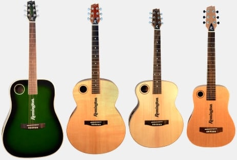 remington boulder creek guitars