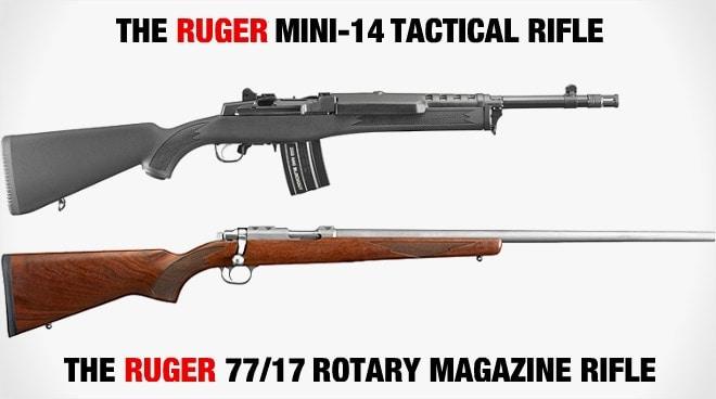 Ruger's new Tactical Mini 300 BLK and .17 WSM 77/17 bolt gun