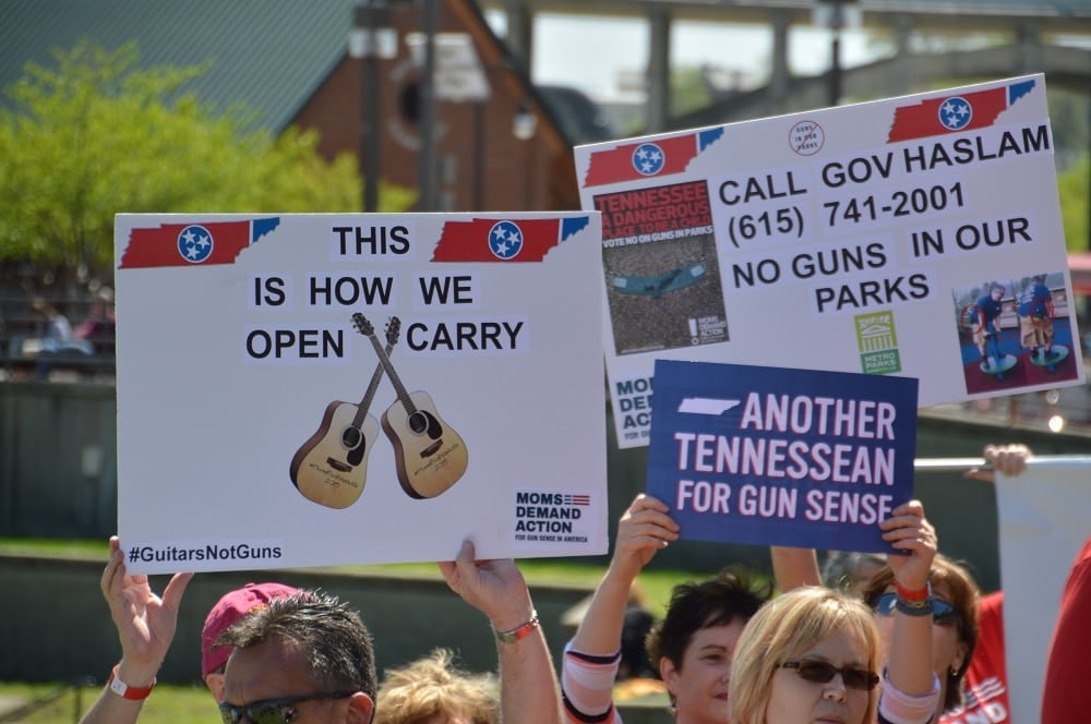 Tennessee's guns in parks legislation is caught between a legislature that is in disagreement, a governor that doesn't like it, and a power play between gun rights and gun control advocates. (Photo: Chris Eger/Guns/com)