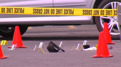 Police say while the man originally acted to protect the woman, he acted in his own defense when the suspect tried to take the gun. (Photo: KSL)