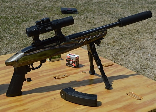 Ruger Charger Takedown bipod