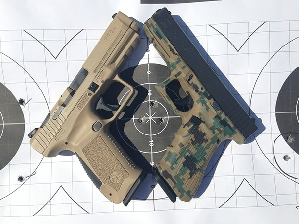 G17 and Canik, side by side.
