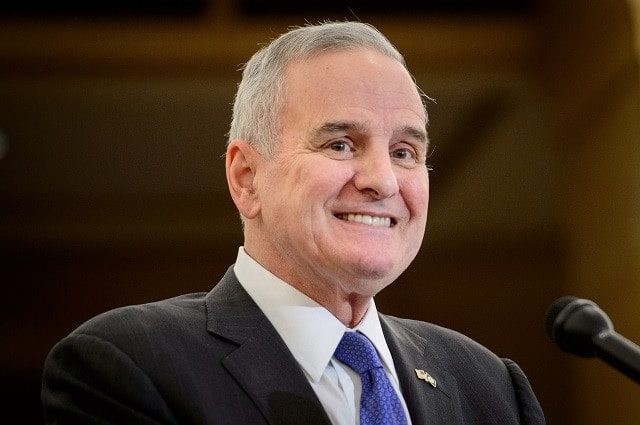 Gov. Mark Dayton (D) reversed course on a bill that included language to legalize suppressors Friday, making Minnesota the 40th such state to allow their possession by civilians. (Photo: Glen Stubbe/Star Tribune)