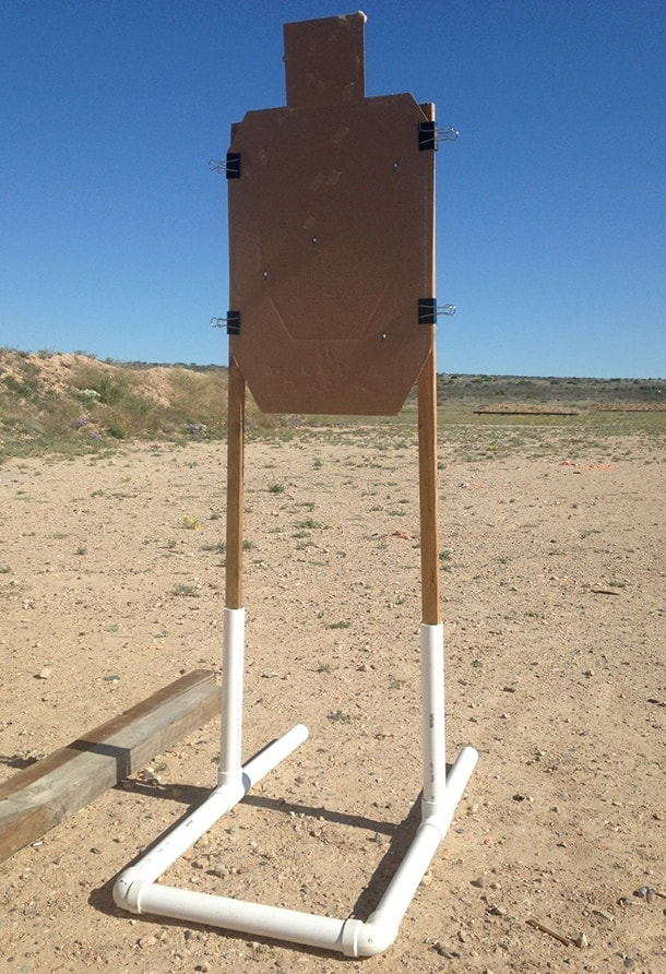fire speed tactical pvc target
