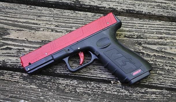 SIRT training gun