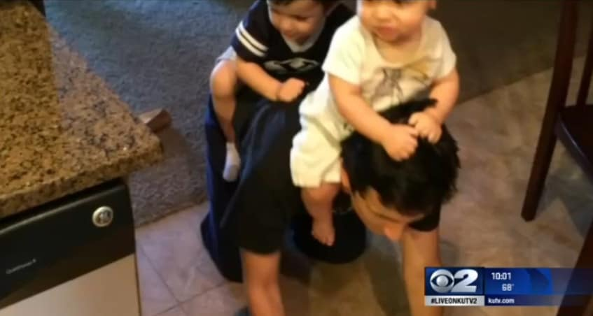 Christian Chichia was the father of two young children with another child on the way. (Photo: KUTV)