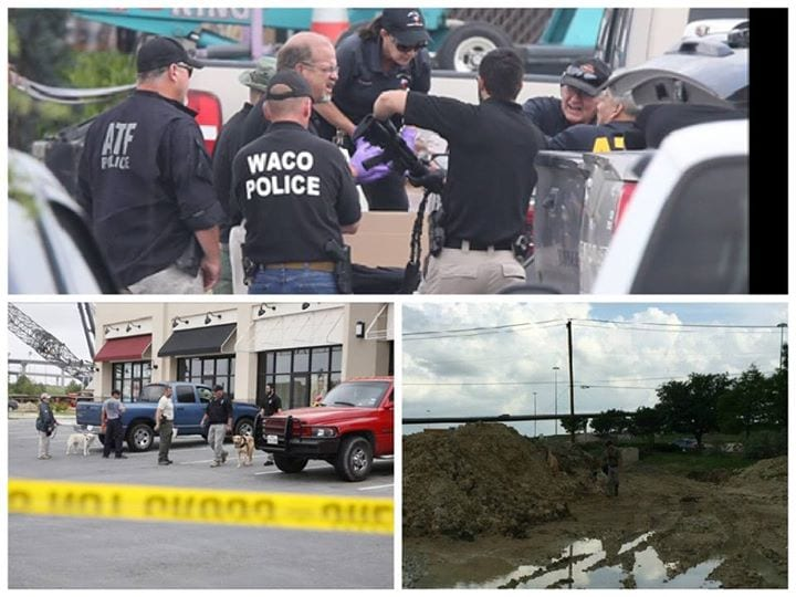 ATF agents and Waco police process evidence at Twin Peaks restaurant earlier this week. (Photo: ATF)