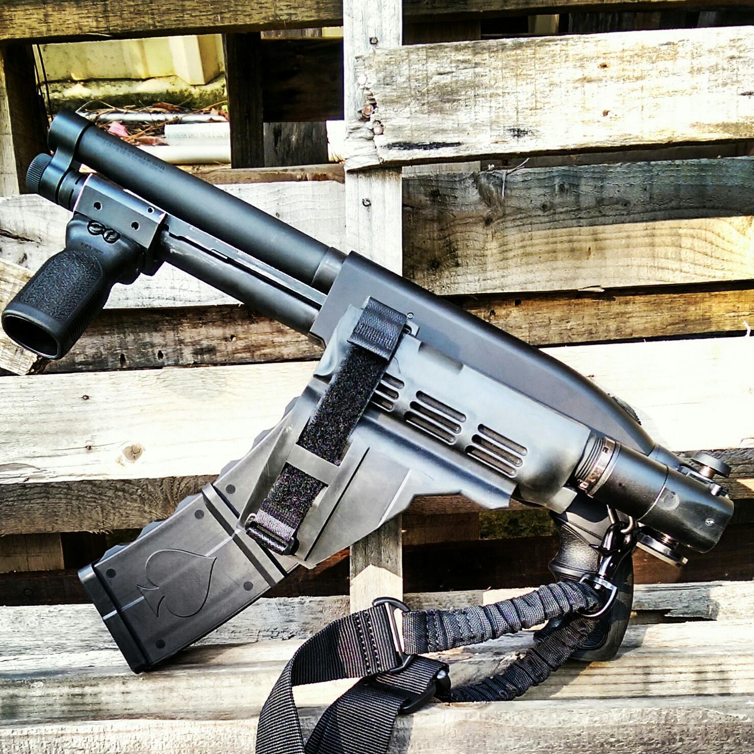 Black Aces has a slick new ultra-compact 10+1 12-gauge