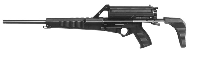 The M900 rifle