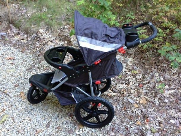 Cart/jogging stroller before mods