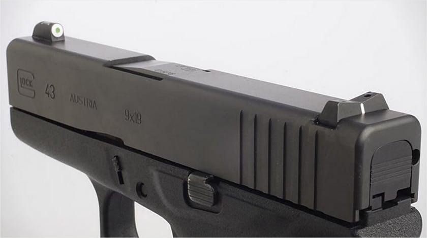 glock 43 42 xs sights big dot night sight max slowik