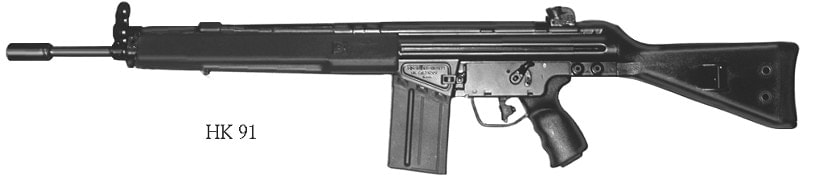 The HK91 and HK93 make up most of the German 7.62mm guns on the DOJ list