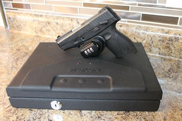 handgun gun safe trigger lock