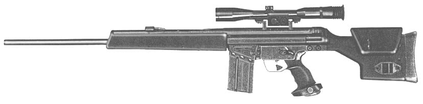 HK PSG-1. There are but 7 of these registered in California