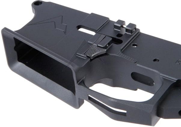 rainier arms ultramatch billet ambi lower ar-15 mod 3