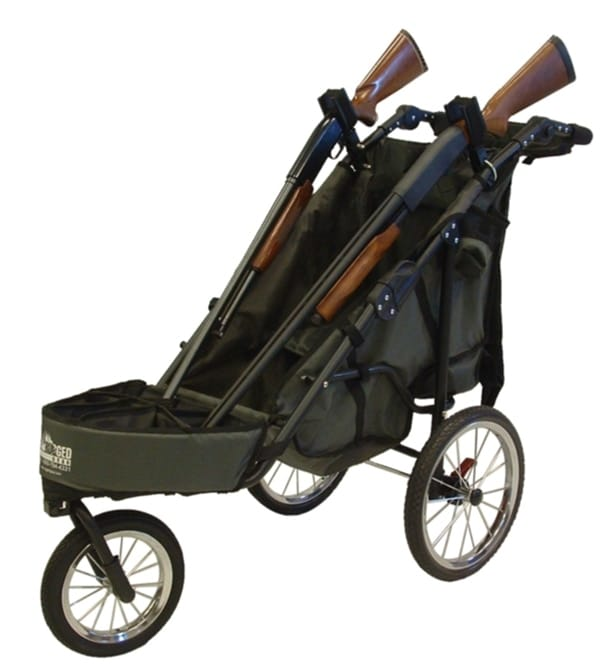 Rugged Gear gun cart with two shot guns