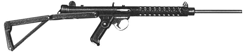 The Sterling MK6 carbine