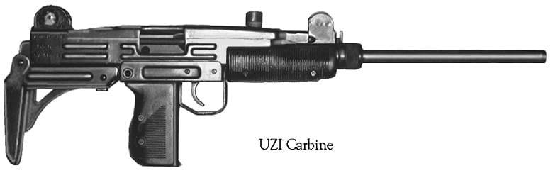 "The UZI, in its pistol and carbine versions, account for about 3 percent of the registered ""assault weapons"" in California"