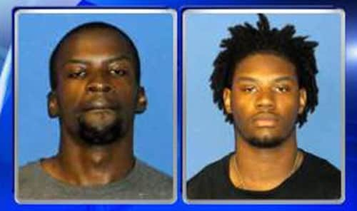 Rashad Curlee (left) and Naquan Bryant (right). Photo: Sampson County Sheriff's Department