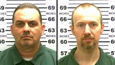 David Sweat (left) and Richard Matt (right) were both serving long-term sentences for murder. (Photo: New York State Police)