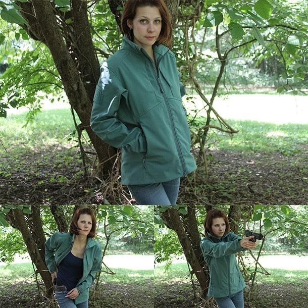 5.11 woman caoncealed carryu jacket
