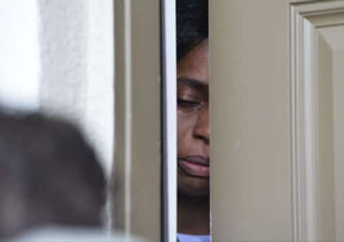 Shalom Toney said she feels like a prisoner in her own home. (Photo: Daily Commercial)