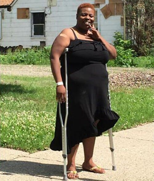 Dietta Gueye can be described as a fighter who beat breast cancer two years ago and scared away five men who broke into her house last week. (Photo: My Fox Philly)